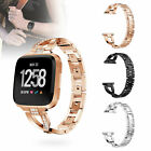 US Metal Replacement Wristband Watch Bracelet Wrist Band Strap for Fitbit Versa