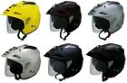 AFX Adult FX-50 Solid Open Face 3/4 Motorcycle Helmet Cruiser Touring 2019