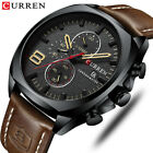 2019 Men Watches Luxury CURREN Military Analog Quartz Men's Sport Wristwatch image