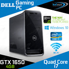 Dell Xps Gaming Pc Quad Core I7 Gtx 1650 8gb Ram Hdd Ssd Windows 10 Desktop