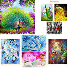 5d Flower Peacock Diamond Painting Diy Hand Embroidery Cross Stitch Home Decor