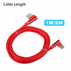US Type-C 90 Degree Right Angle USB C 3.1 Fast Data Sync Charging Charger Cable