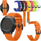 US Universal 20mm Sport Soft Silicone Watch Band Replacement Strap Quick Release image