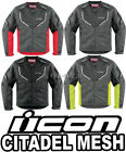 Icon Citadel Mesh Jacket All Colors and Sizes 2015 Motorcycle Jackets