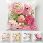 NEW Polyester Square Home Decorative Throw Pillow Case Sofa Waist Cushion Cover image