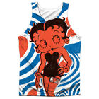 Betty Boop MOD RINGS Front Only Sublimated Big Print Poly Tank Top $37.32 CAD on eBay