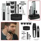 WAHL MUSTACHE AND BEARD TRIMMER Mens Compact Shaver Ear Nose Brows Grooming Set