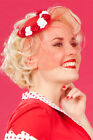 Miss Candyfloss - Flattering Fascinators with Satin Roses and Veil