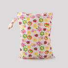 Portable Nappy Storage Bag Baby Wet Dry Cloth Diaper Bags Zipper Washable Useful