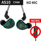 Radio HIFI Stereo In Ear Headphone Headset with 0.75mm 2 Pin Cable Hang