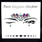 Face Stickers Body Adhesive Tattoo Glitter Gems Rhinestone Jewels Party Festival
