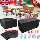 4 Size Heavy Duty Waterproof Outdoor Garden Patio Furniture Cover Table Shelter