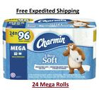 Charmin Toilet Paper Roll Bath Tissue Charmin Ultra Soft Mega 12, 24 OR 48 - NEW