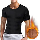 Men Slim Fit Body Shaper Posture Corrector Vest Abdomen Compression T-Shirt Tops