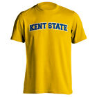 Kent State University Golden Flashes Classic Arch Text Tee Short Sleeve T-Shirt