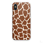 GIRAFFE PRINT PHONE CASE ANIMAL PRINT HARD COVER FOR APPLE SAMSUNG SONY HUAWEI…