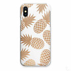 PINEAPPLE PRINT PHONE CASE TROPICAL PRINT HARD COVER FOR APPLE SAMSUNG HUAWEI�