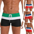 US Men Swimming Trunks Quick Dry Beach Boxers Briefs Swimwear Surf Board Pant h8