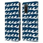 OFFICIAL ANDREA LAUREN DESIGN SEA LIFE LEATHER BOOK CASE FOR SAMSUNG PHONES 1