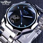 Winner Men's Wrist Watches Skeleton Sport Automatic Mechanical Watch Waterproof image