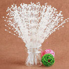 10pcs Pearl Beaded Bridal Bouquet Wedding Party Home Diy Decor Accessories