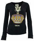 CCM NHL Women's Los Angeles Kings Lace Up Henley Shirt $14.99 USD on eBay