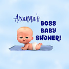 Boss Baby Shower Supplies Water Bottle Labels Other Labels Tags Treat/Chip Bags
