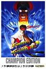 187662 Street Fighter 2 Champion Game mame arcade Wall Print Poster UK
