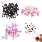 100pcs Rose/Orchid Clips Plant Support Clips for Stems Stalks Vines Grow Upright