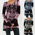 Women's Loose Long Sleeve Casual Blouse Shirt Tunic Tops Fashion Loose Pullover