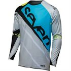 Seven Rival Militant MX / Motocross / Off Road Jersey Blue/Cement Size Small