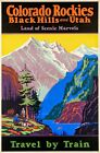 200271 Colorado Rockies & the Black Hills Railroad Wall Print Poster CA on Ebay