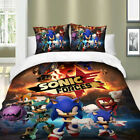 HD 2/3Pieces Duvet Cover Set All Size Bedding Set Sonic The Hedgehog Anime US image