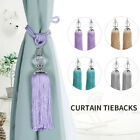 2Pcs Tassel Rope Window Curtain Decor Ball Curtain Tiebacks Window Decor GIFT