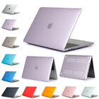 Hard Case Shell for Macbook Air 13 /11 Pro 13 / 15 Retina 12 Clear Plastic Cover
