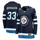 Fanatics Branded Dustin Byfuglien Winnipeg Jets Womens Navy Breakaway Jersey