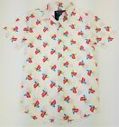 Sony PlayStation Button Shirt S/S White/Pink Vintage PS1 Logos 4 STYLES S M L XL