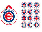 Chicago Cubs Birthday Party Gift Tags Round Labels Stickers  Vinyl on Ebay