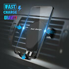 Automatic Fast Charging Mount Wireless Car Charger Holder For iPhone Samsung USA