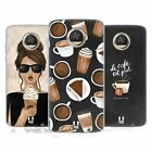 HEAD CASE DESIGNS FRENCH CAFE GEL CASE FOR MOTOROLA PHONES