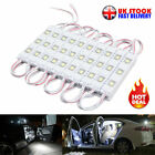 30-60 Led Car Interior Led Strip Lights Lamp Wire Light 12v White F/ Van Caravan