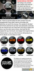 Wheel Cap Decal sticker to fit OZ Racing 55mm dia x4 Printed in 8 colours x4