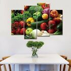 4 Pcs Modern Vegetables Canvas Painting Wall Pictures for Living Room decor