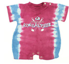 NHL Infant Colorado Avalanche Tie-Dye Romper, Burgundy $4.99 USD on eBay