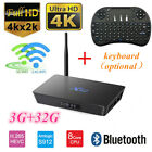 Lot Smart X92 TV Box 4K Octa Core S912 3+32G HD BT WiFi Player Android +Keyboard picture