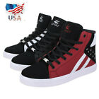 Kyпить US Men's Casual High Top Sport Shoes Running Outdoor Hip Hop Dance Sneakers  на еВаy.соm