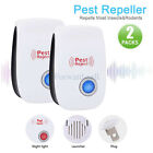 Pack Ultrasonic Pest Repeller Control Electronic Repellent Mice Rat Reject USA