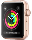 Apple Watch Series 3 - 38mm FACE ONLY -NO STRAP -Rose Gold GPS/Cellular-RENEWED