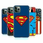 OFFICIAL SUPERMAN DC COMICS LOGOS SOFT GEL CASE FOR APPLE iPHONE PHONES