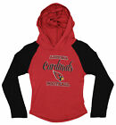 OuterStuff NFL Youth Girls Long Sleeve Hooded Shirt, Arizona Cardinals $17.5 USD on eBay